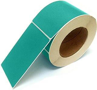 Next Day 标签,7.62 X 12.7 厘米矩形库存颜色编码标签,每卷 500 张(青色)