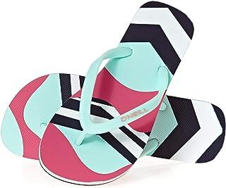 O'Neill 女孩 Fg Moya 印花凉鞋拖鞋 Pink (Pink Aop W/ Green 4960) 33 EU