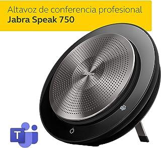 Jabra 捷波朗 SPEAKTM 750 MS 团队扬声器带 Jabra LINK 370 USB 适配器 | USB 和蓝牙连接 - 微软团队认证