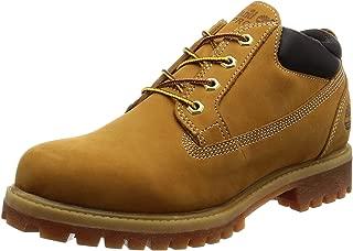 Timberland 男式 Icon Premium 防水牛津短靴