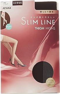 (厚木)ATSUGI 长筒袜 SLIM LINE(细线) 厚款 大腿根部长度长筒袜 宽松〈3双装〉