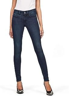 G-STAR RAW 女士 Lynn 中腰超紧身牛仔裤