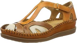 Pikolinos 女士 Cadaques W8k_v19 闭口凉鞋,珊瑚红色,35 欧码