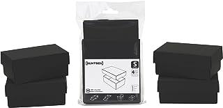 Buntbox 69-22 纸板套装,4 件套 太阳 S 石墨