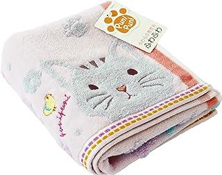 UCHINO 面巾 粉色 猫 约34×75cm 柔软 9006F704 P