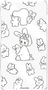Caho 壳 透明 硬质 印刷 兔子 背景透明WN-LC1019780 21_ g04 兔子B