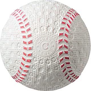 Markwort Kenko 8.5C White Baseball with Dimpled Cover - 4 1/2-Ounce 8 1/2-Inch Circumference (1 Dozen)