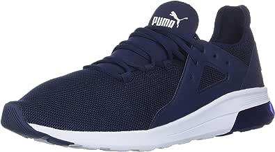 PUMA 彪马 男士 Electron Street 运动鞋 Peacoat-peacoat-puma White 4.5