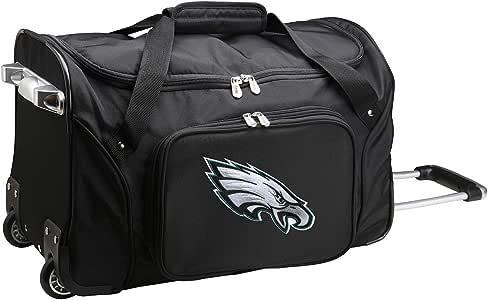 """NFL 行李袋 黑色 22 x 12 x 5.5"""""""