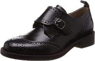 [Tweeds] 孟克绑带尖头鞋 女士 5526BL