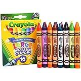 Crayola 绘儿乐 16色可水洗大蜡笔 52-3281(新老包装更替随机发货)