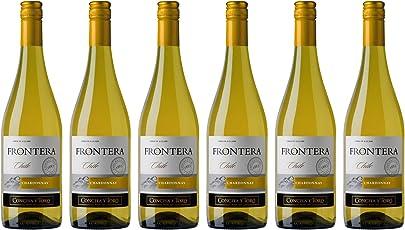 Frontera 缘峰夏多内白葡萄酒750ml*6(智利进口葡萄酒)