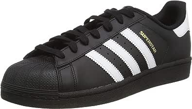 adidas Originals 阿迪达斯三叶草 中性 板鞋 SUPERSTAR FOUNDATION B27140 一号黑/白 41 (UK 7-)