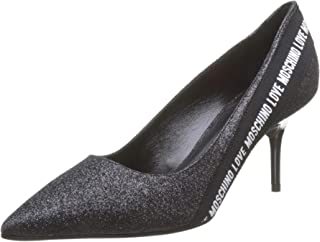 Love Moschino 女式 Scarpadonna a Spillo 闭趾高跟鞋