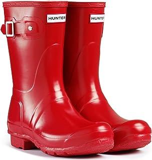 HUNTER 女式原创短款雨靴 军红 .8 M US