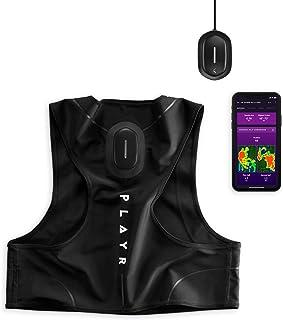 Catapult PLAYR 足球 GPS 追踪器 - GPS 背心和应用程序,用于跟踪和改善您的游戏 - 适用于 iPhone 和 Android