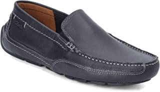 Clarks 男式 Step Driving Style 乐福鞋