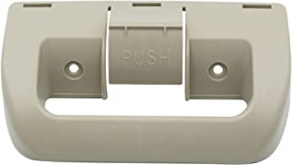 WeHope 3851174015 替换冰箱门把手,适用于RM2852,RM2862,DM2862,DM2852,RM2652,RM2662,DM2652,DM2662,DM2662圆顶冰箱上下门,米色