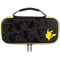 Stealth Case for Nintendo Switch - Super Mario 红色 Protection Case Pikachu Silhouette