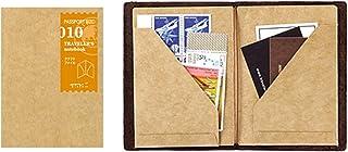 Midori Traveler's Notebook护照型替芯010 牛皮纸收纳内芯