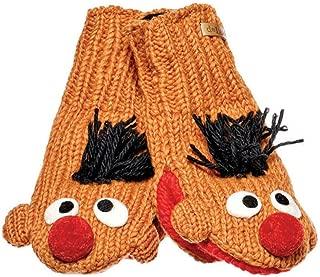 Knitwits 儿童芝麻街针织羊毛手套