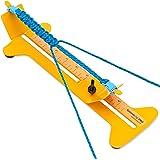 SpeedyJig Pro - Paracord 手链套件和固定器 - 轻松制作伞绳手镯 10.16 厘米到 33.02 厘米之间 可调节钢框 美国制造 - 包括免费跳伞绳和皮带扣