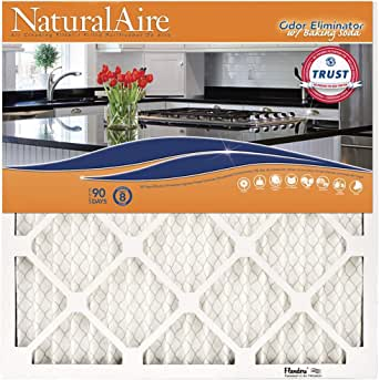 """Flanders PrecisionAire 84857.012021 NaturalAire with Baking Soda (Pack of 4), 20"""" x 21"""" x 1"""""""