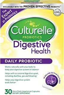 Culturelle 康萃乐 每日益生元,30粒胶囊,有益于吸收| 与您的身体自然配合,保持吸收与机体系统的平衡* | 经过验证的有效益生元†