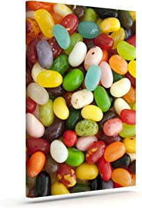 """Kess InHouse Libertad Leal """"I Want Jelly Beans"""" Outdoor Canvas Wall Art, 20 by 24-Inch"""