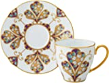 Noritake 罩杯_蘇打 多 160ml 棋子 收藏 咖啡碗碟 (云母金彩花文) T2403/H-771