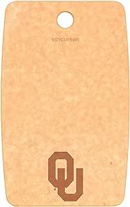 """Epicurean 奥本大学老虎切割/服务板 天然 9.5"""" x 6"""" Cutting/Serving C001-090601-OU"""