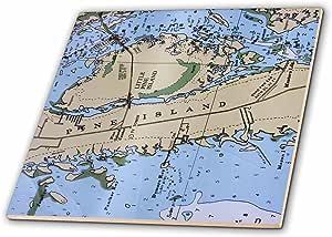 florene 装饰–航海图 II–瓷砖