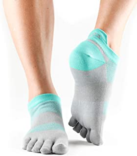 toesox 女式 LOLO 性能 Five 头低腰 SPORT 运动五趾袜