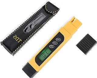 MUCH 3 合 1 TDS 仪表数字水质量测试仪专业温度和 EC 0-9999ppm 饮用水水族箱水培