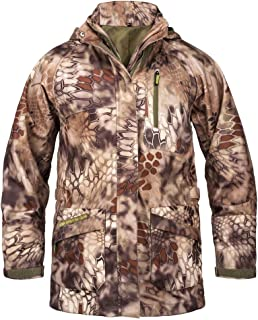 KODA Adventure Gear Youth Kids Kryptek Highlander Hunting Hiking Waterproof Hardshell Jacket