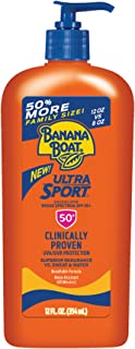 Banana Boat 香蕉船 防晒霜Ultra Sport防晒霜,SPF 50,12盎司/354ml