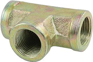 15/32 英寸 11.8 毫米女士螺纹 T 恤联盟管接头耦合