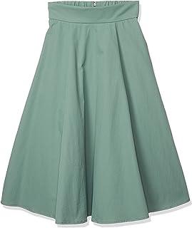 N. Natural Beauty Basic裙 褶皱喇叭裙 女士 166-0120267