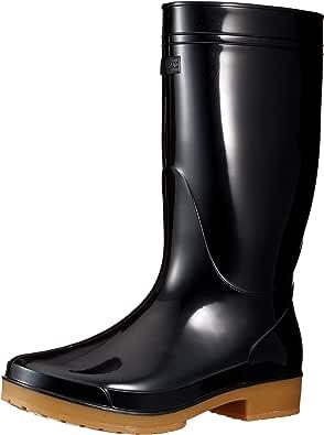 [爱依托斯] 长靴 4434 白色 22.5 黑色 28.0 cm 3E