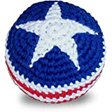 World Footbag USA Flag Hacky Sack 鞋垫包