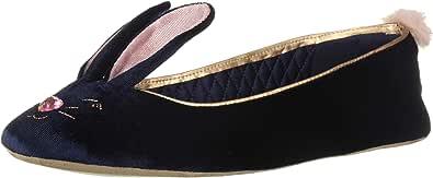 Ted Baker Bhunni 女士拖鞋, Navy Velvet 5 M US