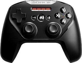 SteelSeries Nimbus+ 无线游戏控制器 - 可充电 - 适用于 iPhone、iPad、iPod 和 Apple TV (Mac)