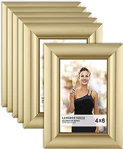 Langdons 画框套装,壁挂式或桌面照片框,垂直或水平展示画框,庆祝系列