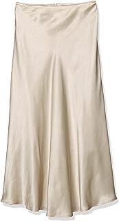 NATURAL BEAUTY BASIC 裙子 光泽缎面大手裙 女款 017-0120782