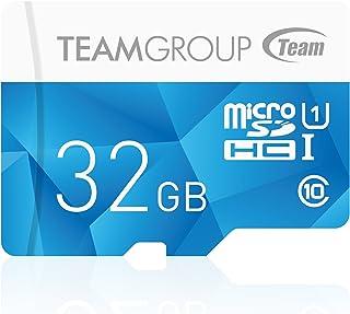 TEAMGROUP 存储卡 MicroSDHC/XC 带适配器Color Card I  32GB
