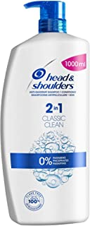 Head and Shoulders Classic Clean 2-in-1 Shampoo and Conditioner 1 Litre