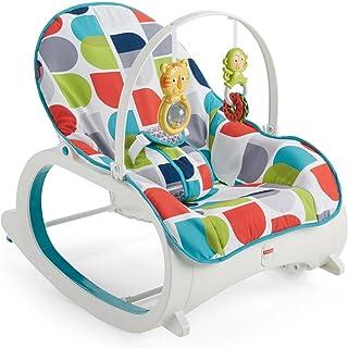 Fisher-Price 婴儿到学步儿童摇椅,Geo 曲线多色