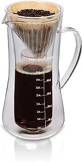 Hamilton Beach Pour Over 滴滤咖啡机,17 盎司(约 481.9 克),玻璃水瓶
