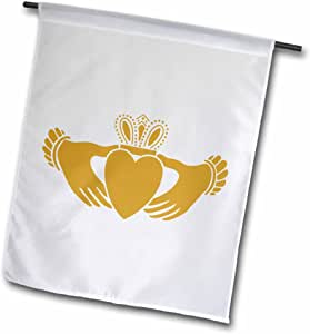 evadane–ST , patricks DAY–克拉达–旗帜 12 x 18 inch Garden Flag