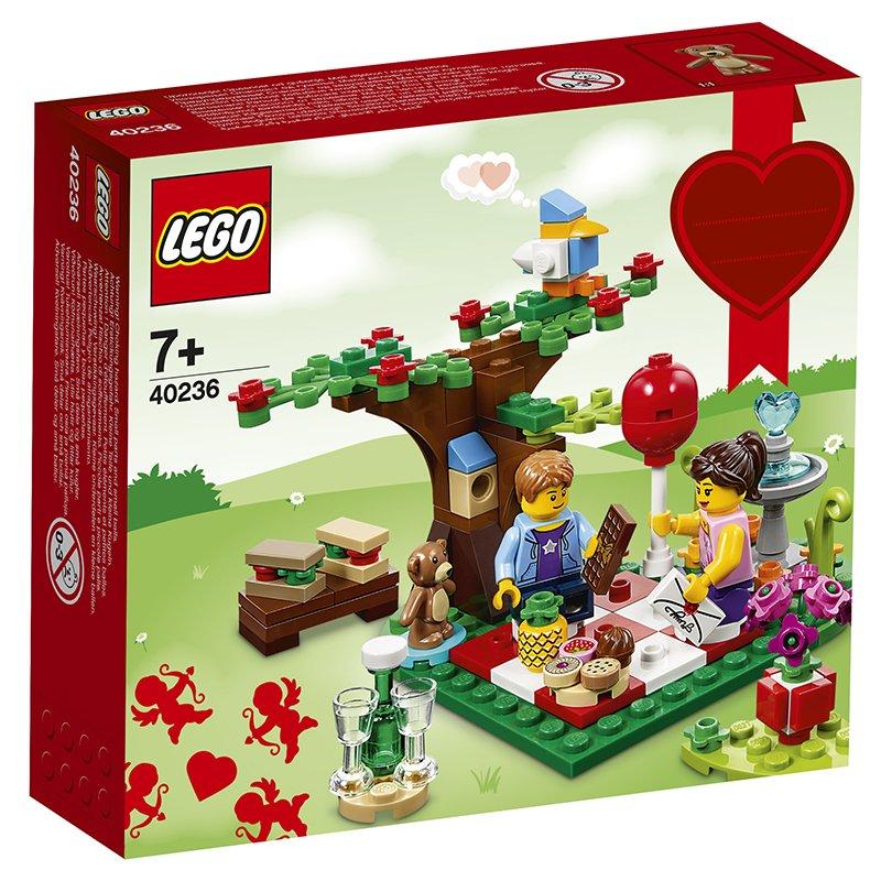 LEGO 乐高 拼插类玩具 浪漫情人节野餐会